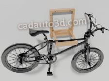 Kрепление  для  хранения велосипеда