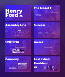 "Презентация - оформление ""Henry Ford"""
