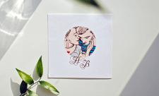 Ілюстрація до весільного запрошення