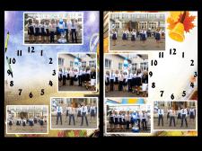"""Дизайн часов на тему """"Школа"""