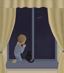 Хлопчик і ніч
