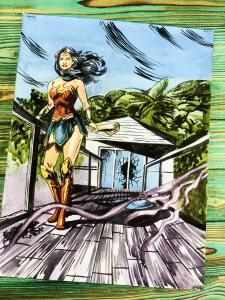комикс чудо-женщина