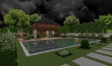 Проект ландшафта жилого дома