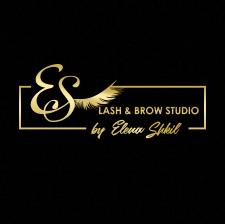 Логотип Lash & Brow Studio by Elena Shkil