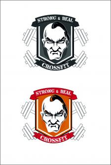Логотип для Crossfit