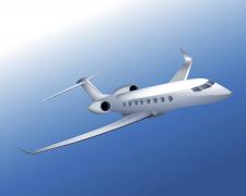 Векторная иллюстрация самолет