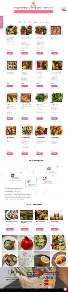 Магазин овощей и фруктов с доставкой