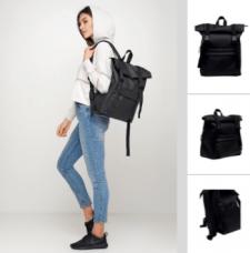 Описание: Рюкзак RollTop 0SH черный (кейс задания)