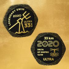 Разработать дизайна медалей Дельта Днепра