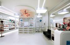 Дизайн интерьера аптека