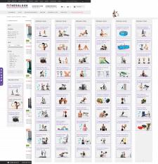 Большой набор баннеров для интернет-магазина спорт