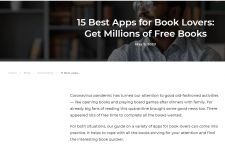 15 Best Apps for Book Lovers