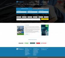 Веб-дизайн для сайта автосервиса Говерла