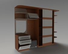 3D модель шкафа