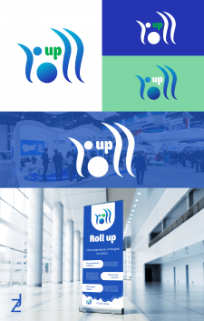 ROLL UP - изготовитель стендов / логотип