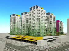 проект застройки жилого квартала