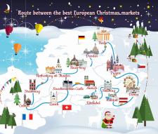 """Баннер для сайта """"Маршрут Рождественской ярмарки"""""""