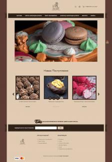 Сайт Магазин десертов