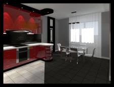 Разработка дизайна кухни. г.Владивосток
