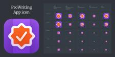 """Дизайн иконки для приложения """"ProWriting"""""""
