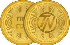 Дизайн Криптовалюты, логотип и монета.
