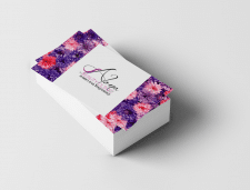Варианты визитка для салона красоты( продается)