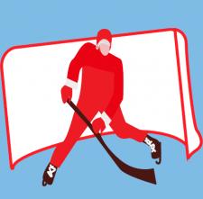 зимние виды спорта - хоккей