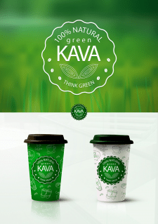 Green Kava cup
