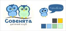 """Логотип та персонаж для дитячого клубу """"Совенята"""""""