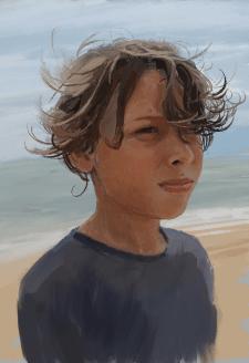 Портрет мальчика по фото