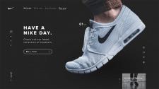 Nike Landing Concept