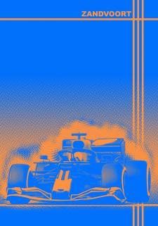 """Плед """"Формула1"""". Фриланс Нідерланди"""