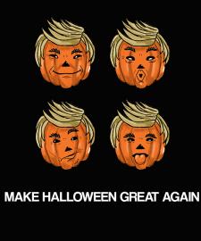 Принты для футболок на тему Halloween