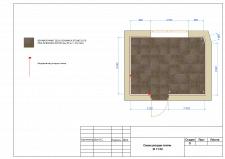 Схема раскладки плитки пол
