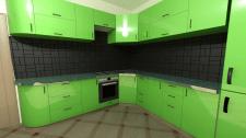 Кухня 3d + визуализация autocag