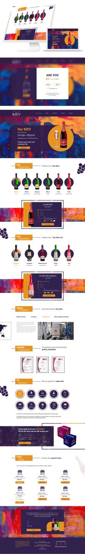 Дизайн Landig Page для Our Kiev