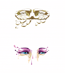 Принты Глаза Вектор
