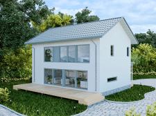 Моделирование и визуализация домика