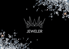 разработка логотипа/brand book ювелирного магазина