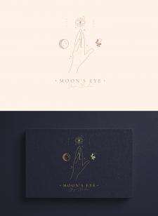 Логотип для Йога-студии «Moon's Eye»