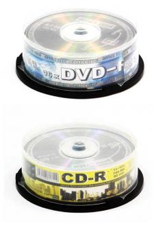 упаковка DVD диска