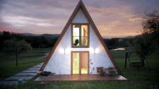 Розробка фасаду та візуалізація дачного будинку