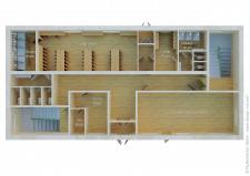 3Д планировка здания