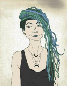 Стилізований портрет 2