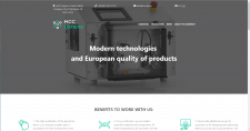 Multi Language One Page Website
