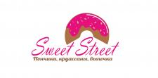 Логотип для компании по выпечке пончиков