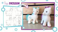Эскиз-дизайн детских игрушек из каучука