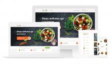 Дизайн сайта и приложения для Ресторана