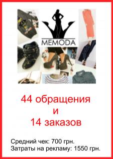 MeModa - магазин одежды