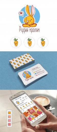 Рудий кролик - блокноти ручної роботи